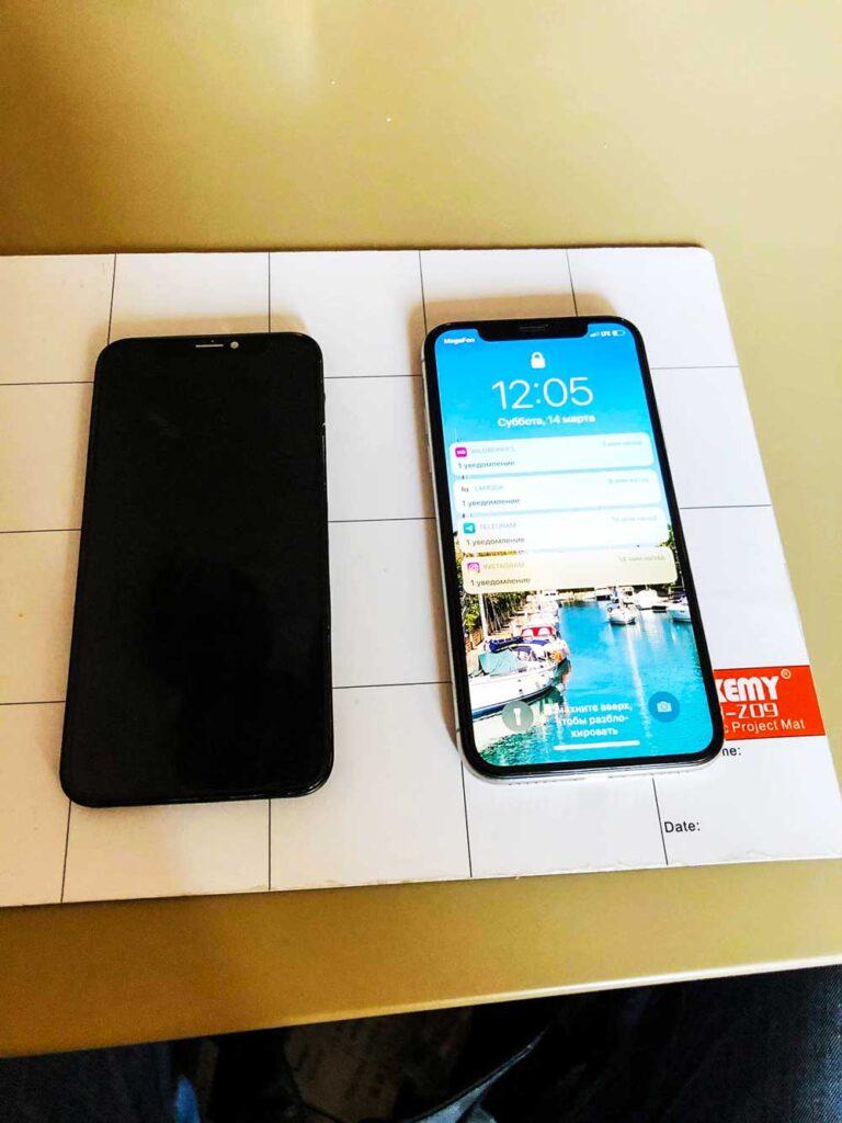 Замена экрана IPhone xs max 1
