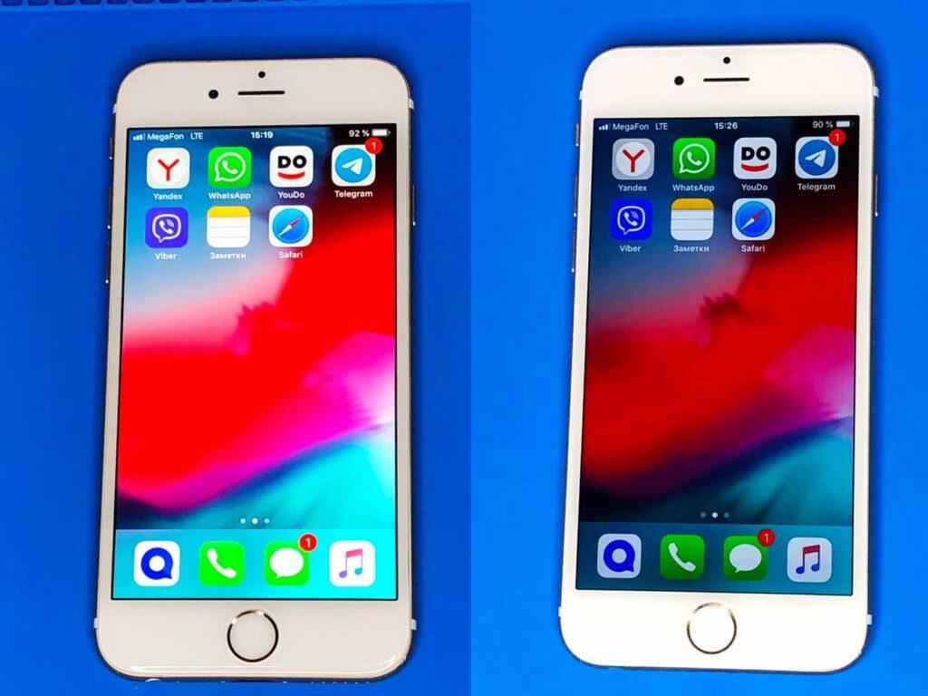 Разница межде оригинальным IPhone и копией