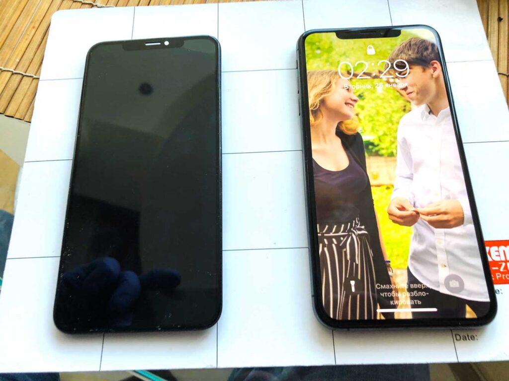 iphone XS max 27-09-2020