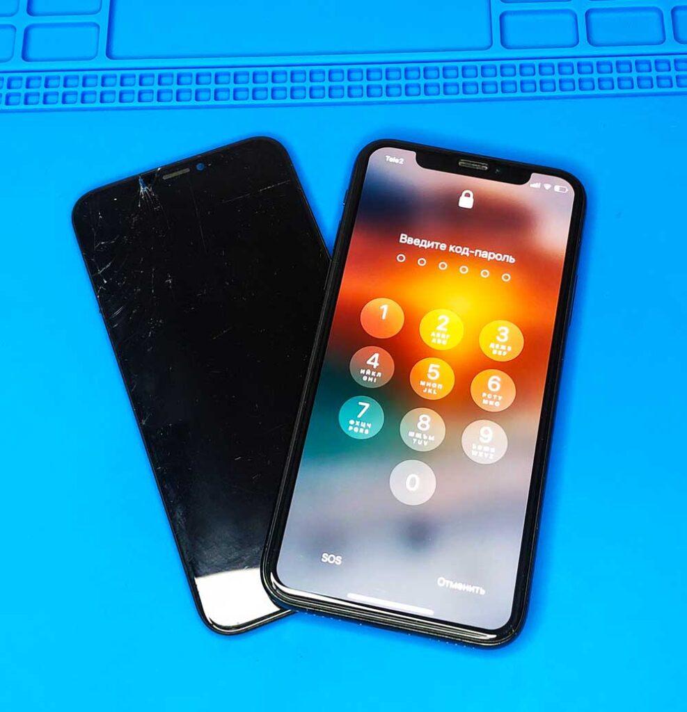 Замена экрана IPhone X 888