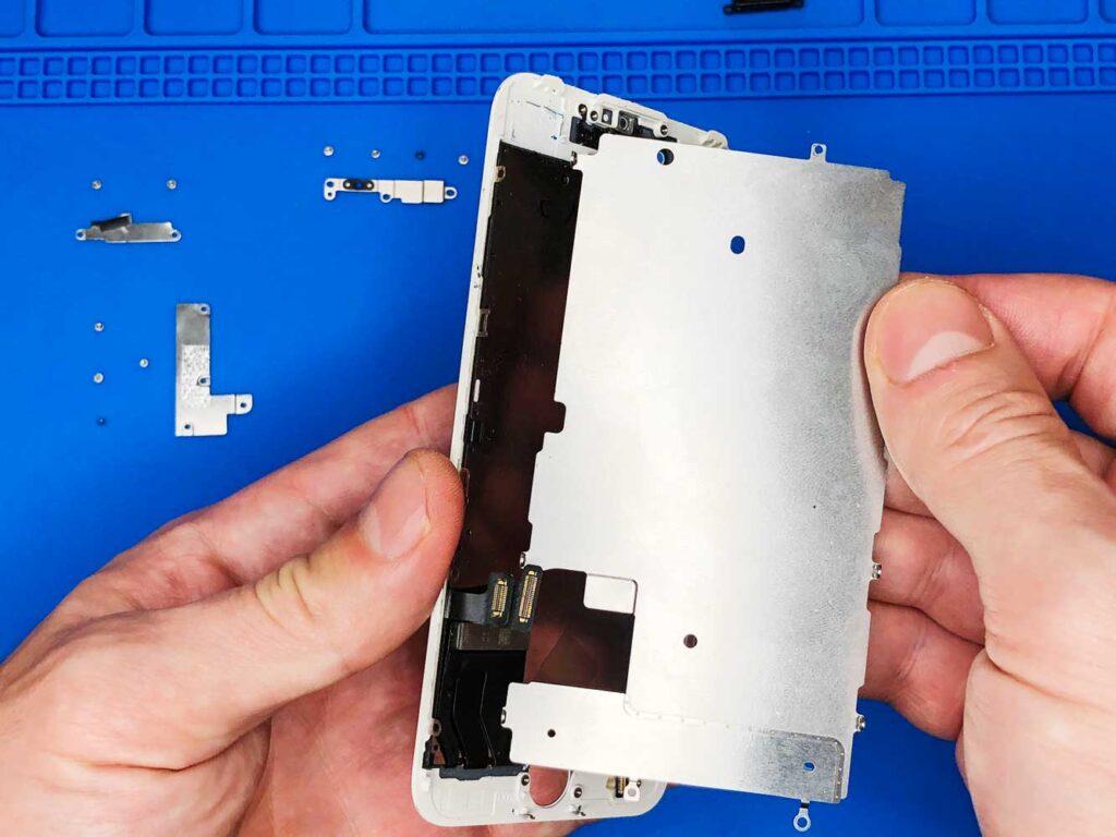 защитная пластина экрана iphone
