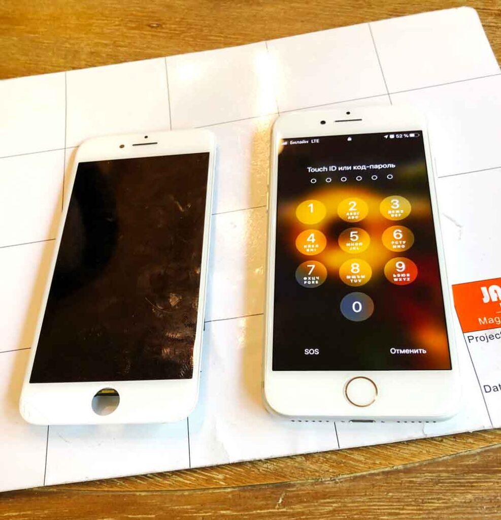 Замена экрана IPhone 6-333