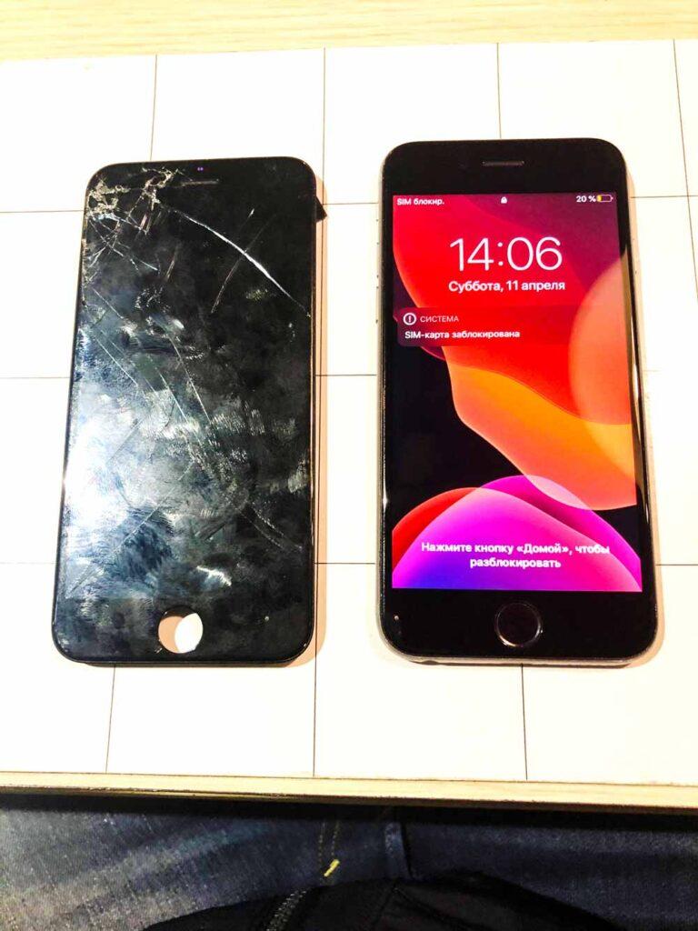Замена экрана IPhone 6s Plus3