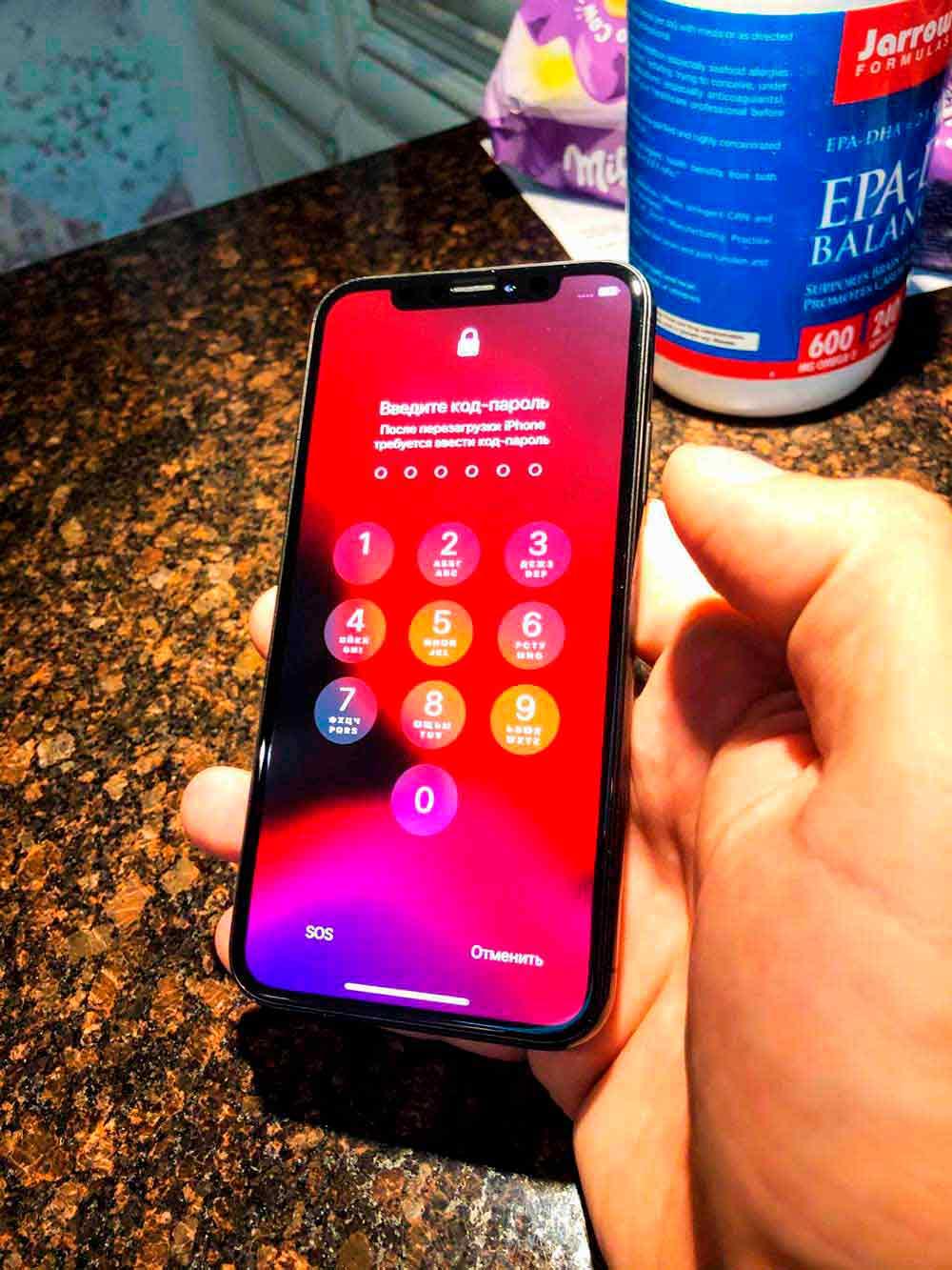 замена экрана IPhone x 14