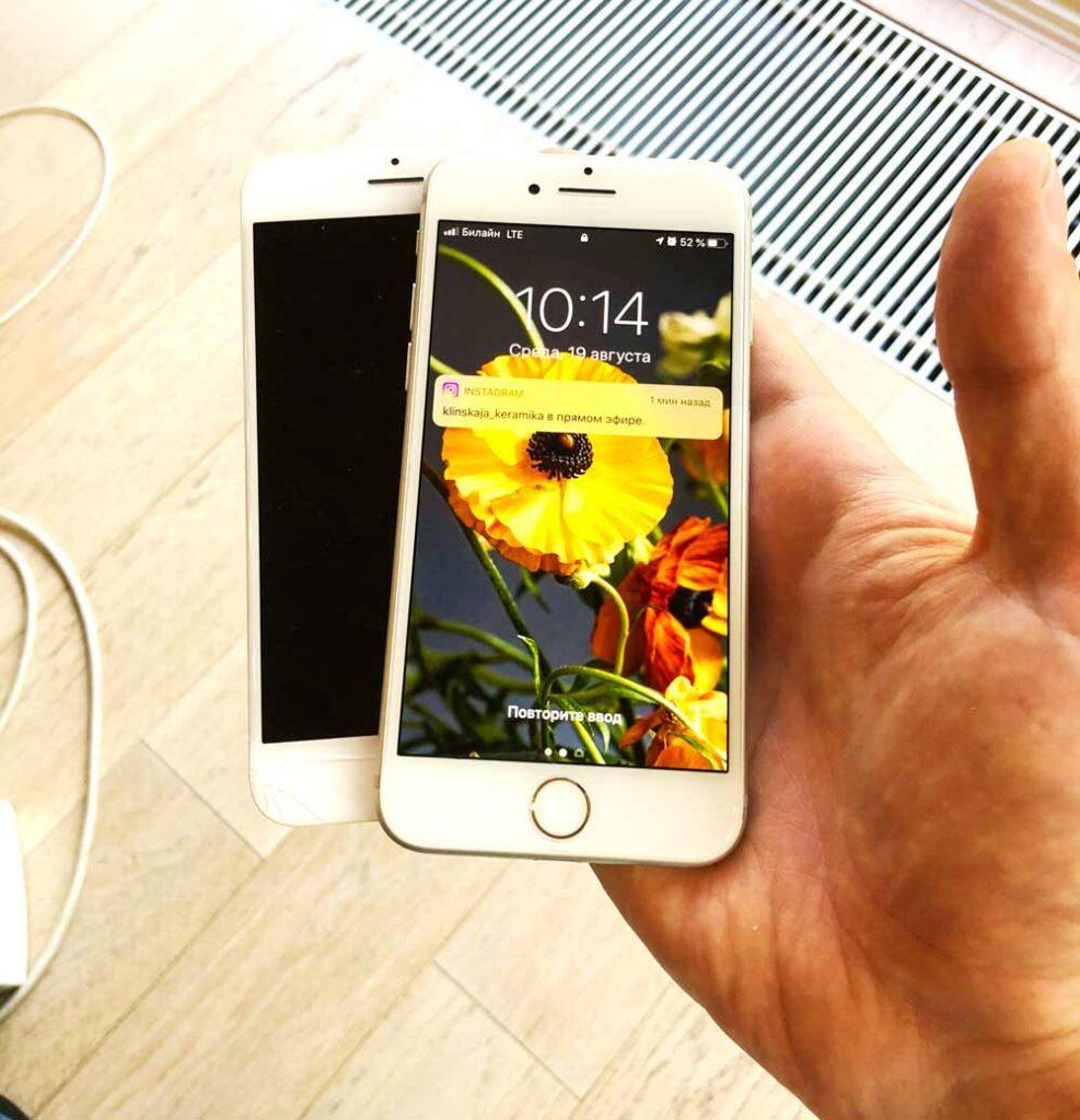 замена экрана iphone 6 2