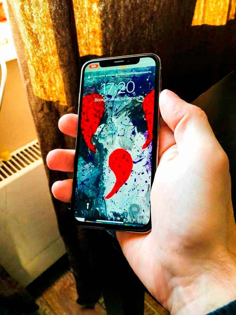 ремонт IPhone результат