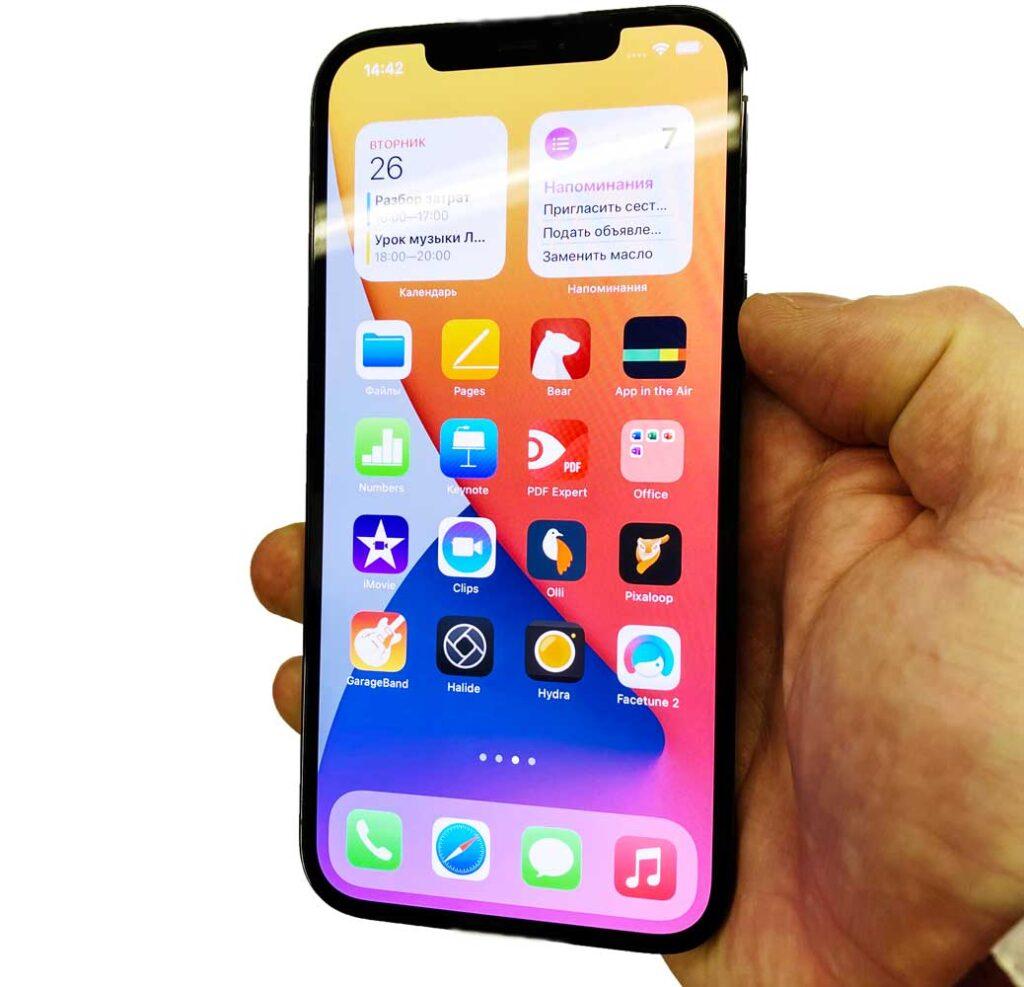 Замена экрана IPhone 12 Pro