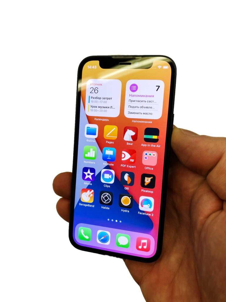 Замена стекла IPhone 12 Pro