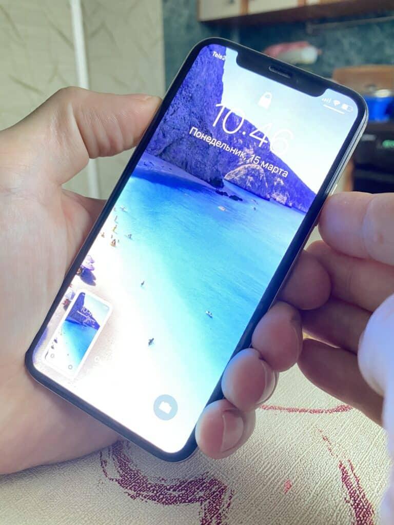 Как сделать скриншот экрана IPhone?