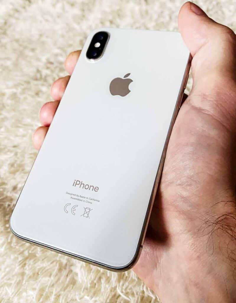 заднее стекло IPhone X