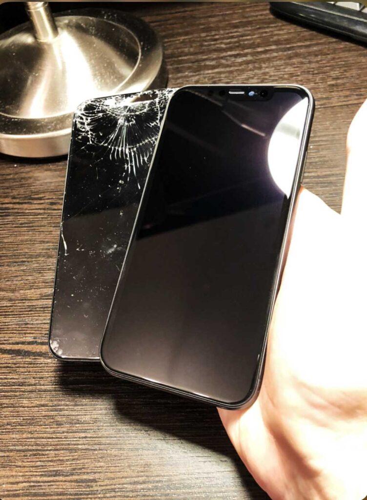 IPhone X до и после