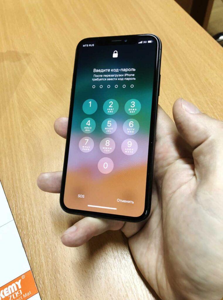 Ремонт дисплея IPhone x
