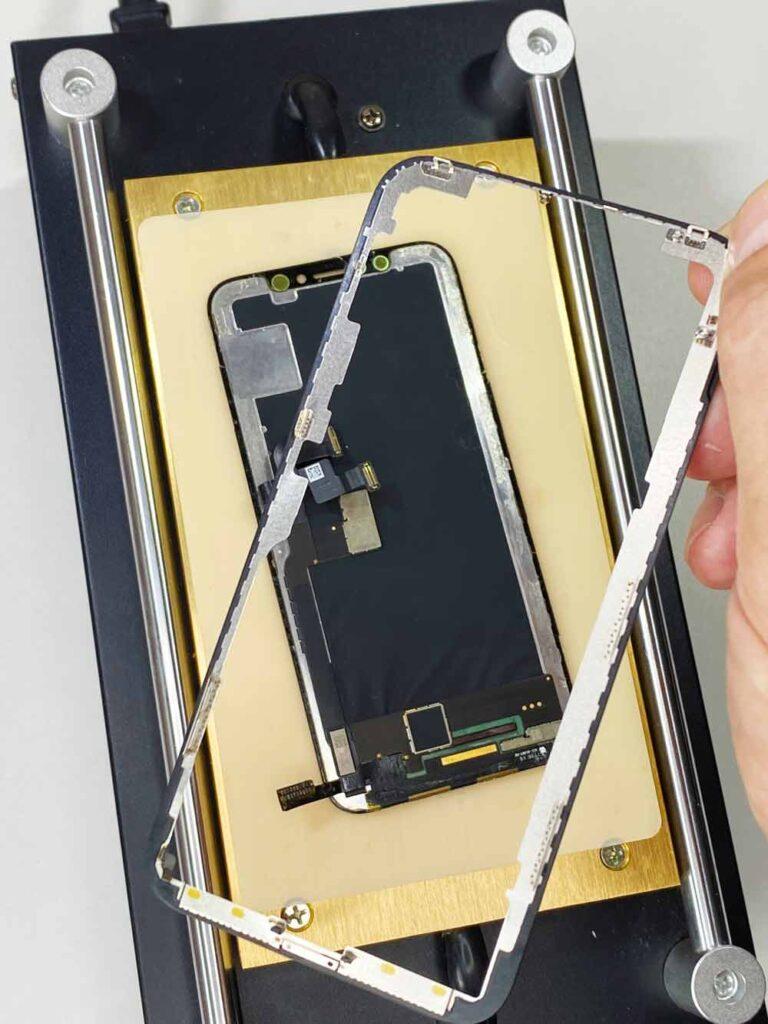 Снимаем рамку IPhone X