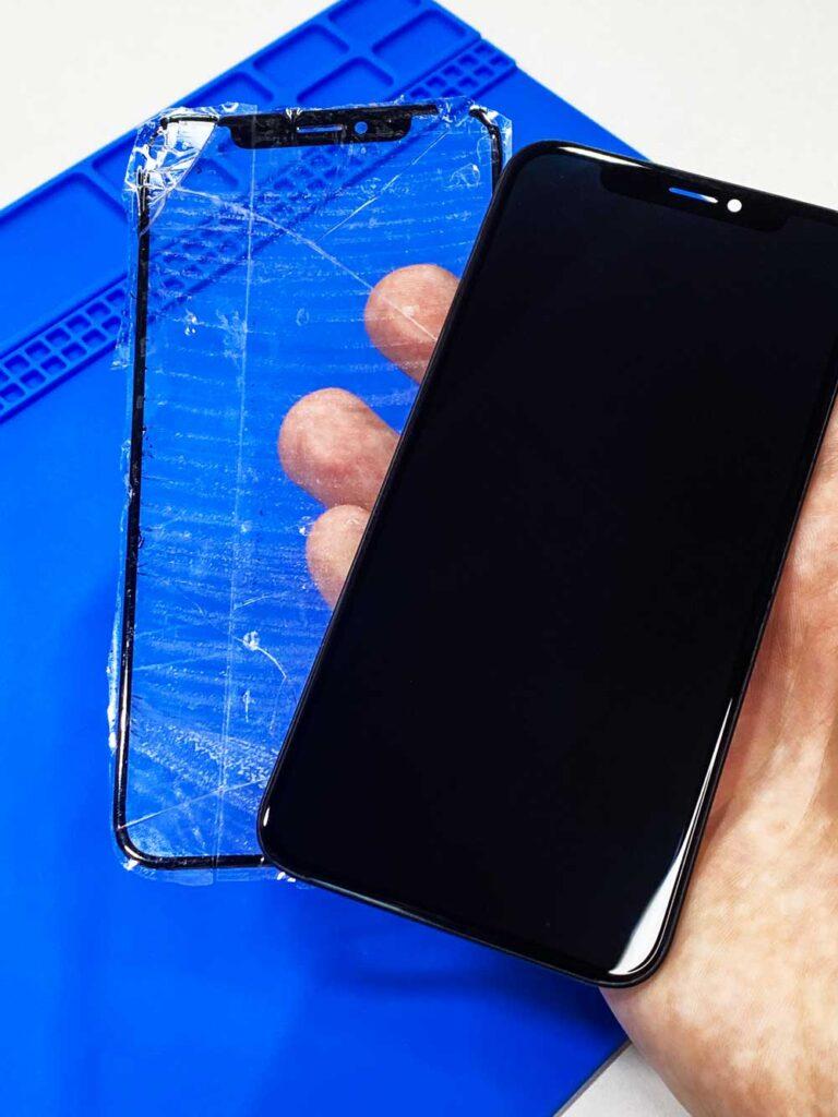 Замена стекла IPhone x 2