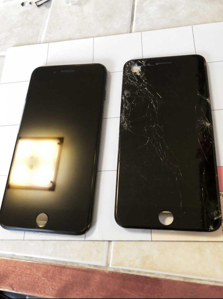 IPhone 7 до и после ремонта