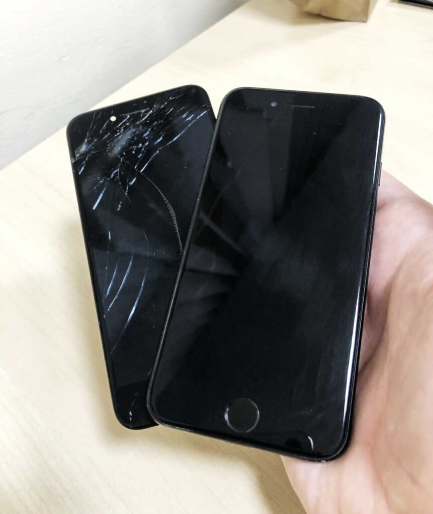 IPhone 7 результат ремонта