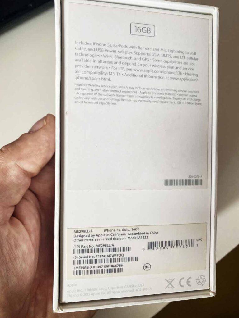 коробка iphone евротест