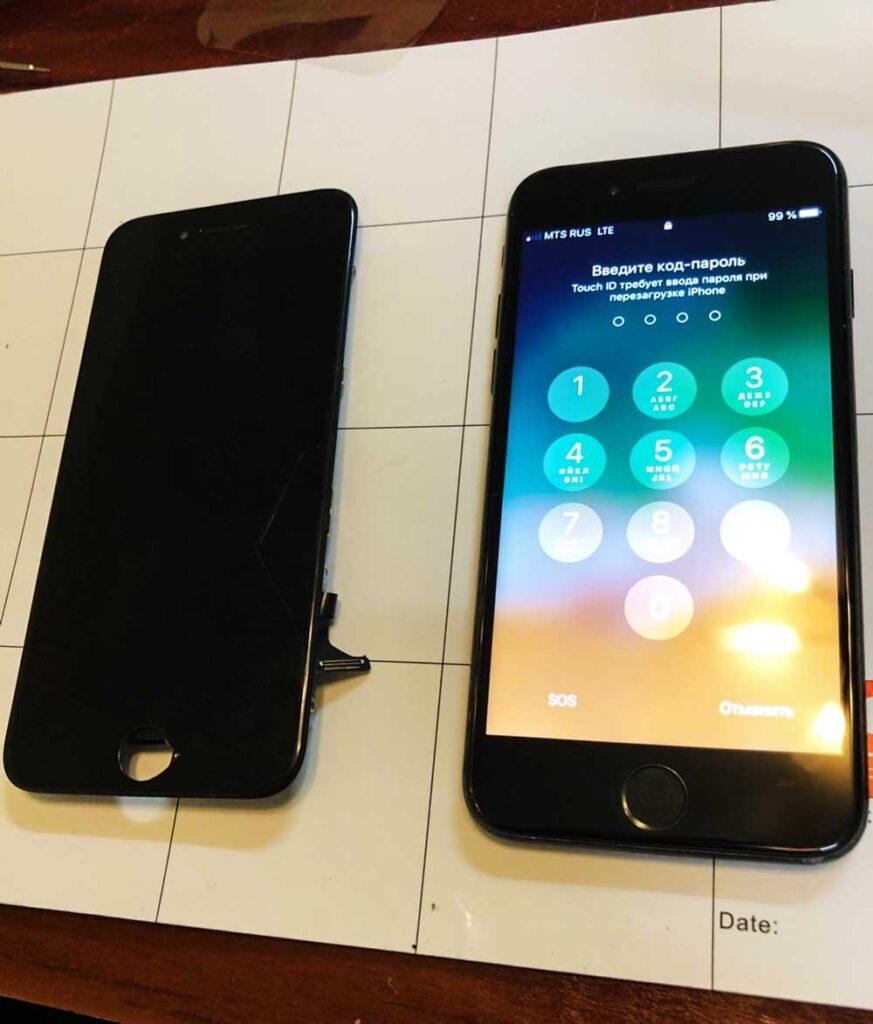 Ремонт модуля iPhone 7