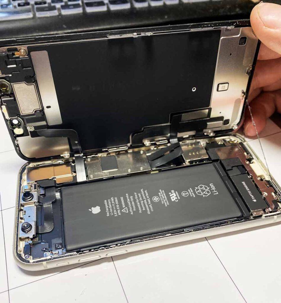 IPhone xs max вскрытие