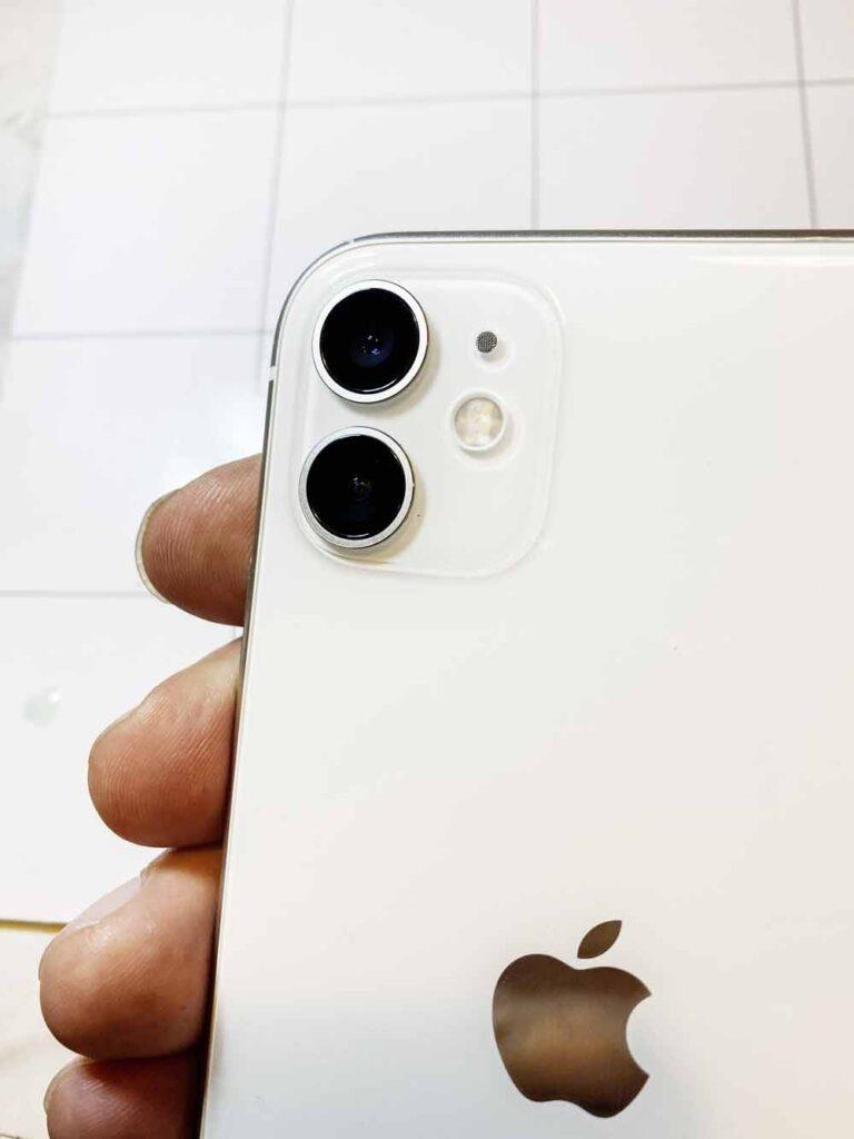 Оригинальное стекло камеры IPhone 11