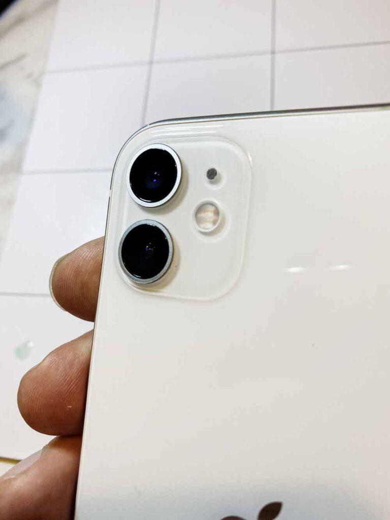Замена стекла камеры IPhone 11